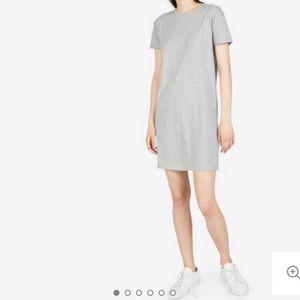 Everlane Gray Boxy Tee Dress sz small